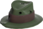 Painted Fed-Fightin' Fedora 424F3B.png