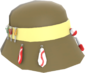 Painted Bloke's Bucket Hat F0E68C.png
