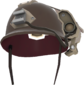 Painted Cross-Comm Crash Helmet 7C6C57.png