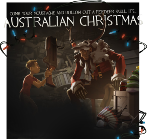 Main page of the Australian Christmas update