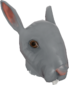 Painted Horrific Head of Hare 384248.png