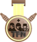 Painted Tournament Medal - TFNew 6v6 Newbie Cup F0E68C Third Place.png