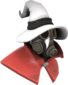 Painted Seared Sorcerer E6E6E6 Hat and Cape Only.png