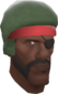 Painted Demoman's Fro 424F3B.png