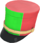 Painted Scout Shako 32CD32.png