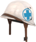 Painted Surgeon's Stahlhelm 256D8D.png