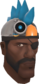 Painted Robot Chicken Hat 256D8D.png
