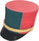 Painted Scout Shako 2F4F4F.png