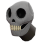 Painted Head of the Dead 7E7E7E Plain.png