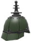 Painted Platinum Pickelhaube 424F3B.png
