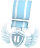 BLU Tournament Medal - CustomLander TF2 Silver Medal.png