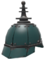 Painted Platinum Pickelhaube 2F4F4F.png