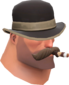Painted Sophisticated Smoker 7C6C57.png