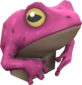 Painted Tropical Toad FF69B4.png