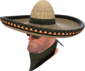 Painted Wide-Brimmed Bandito 2D2D24.png