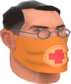 Painted Physician's Procedure Mask C36C2D.png