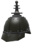 Painted Platinum Pickelhaube 2D2D24.png