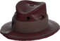 Painted Fed-Fightin' Fedora 3B1F23.png