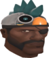 Painted Robot Chicken Hat 2F4F4F.png