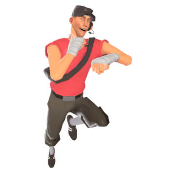 Basic Scout Strategy Official Tf2 Wiki Official Team Fortress Wiki