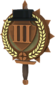 Painted Tournament Medal - Chapelaria Highlander F0E68C Third Place.png