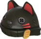 Painted Lucky Cat Hat 2D2D24.png