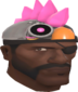 Painted Robot Chicken Hat FF69B4.png