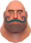 Painted Mustachioed Mann 2F4F4F Style 2.png