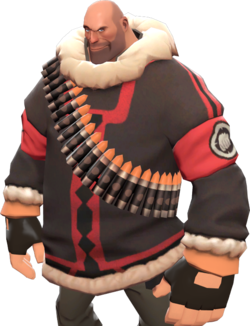 wholesale dealer 9d469 4fc61 Paka Parka - Official TF2 Wiki | Official Team Fortress Wiki