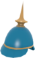 Painted Prussian Pickelhaube 256D8D.png