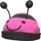 Painted Bumble Beenie FF69B4.png