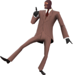 Spy taunts - Official TF2 Wiki | Official Team Fortress Wiki