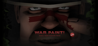 Saxton - War Paint - Make Your Master Piece.png