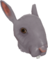 Painted Horrific Head of Hare 51384A.png