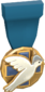 Painted Tournament Medal - Heals for Reals 256D8D Donor Medal.png