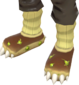 Painted Loaf Loafers F0E68C.png