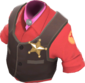 Painted Wild West Waistcoat FF69B4.png