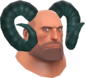 Painted Horrible Horns 2F4F4F Heavy.png