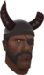 Painted Horrible Horns 3B1F23 Demoman.png