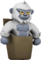 Painted Pocket Yeti E6E6E6.png