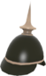 Painted Prussian Pickelhaube 2D2D24.png