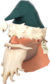 Painted Shoestring Santa 2F4F4F.png