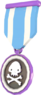 BLU Tournament Medal - TFArena 6v6 Arena Mode Cup Helper Medal.png
