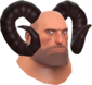 Painted Horrible Horns 3B1F23 Heavy.png
