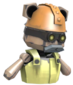 Painted Teddy Robobelt F0E68C.png