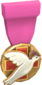 Painted Tournament Medal - Heals for Reals FF69B4 Donor Medal.png