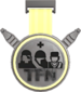 Painted Tournament Medal - TFNew 6v6 Newbie Cup F0E68C Participant.png