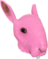 Painted Horrific Head of Hare FF69B4.png