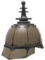 Painted Platinum Pickelhaube 7C6C57.png
