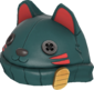 Painted Lucky Cat Hat 2F4F4F.png